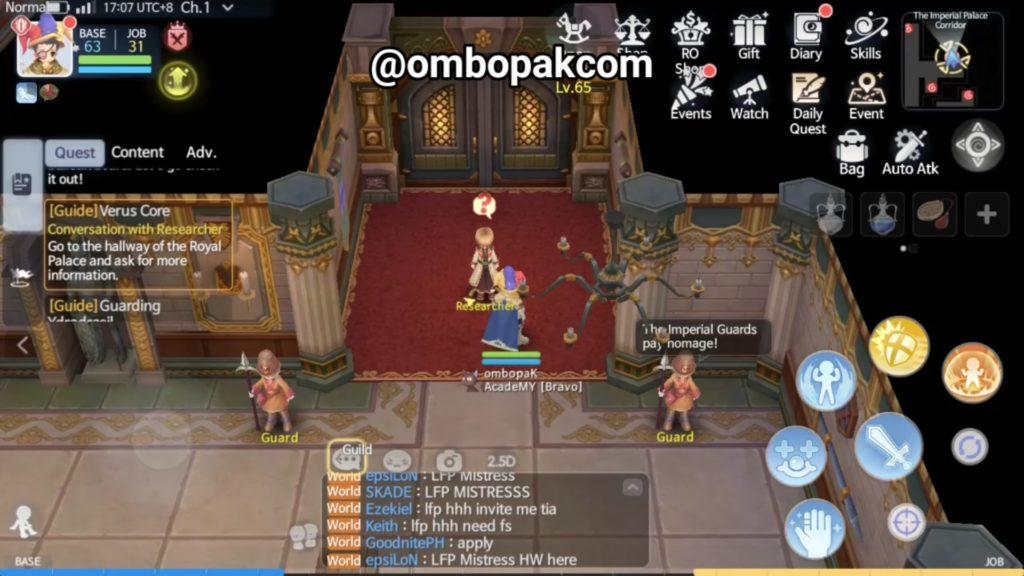 Berus Core Unlock Quest Ragnarok Origin ラグオリ | 라그나로크 오리진 1