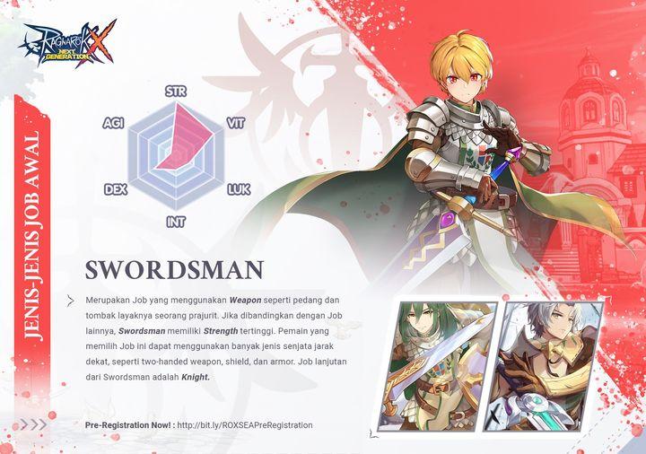 Swordman Skills Ragnarok X Next Generation 1